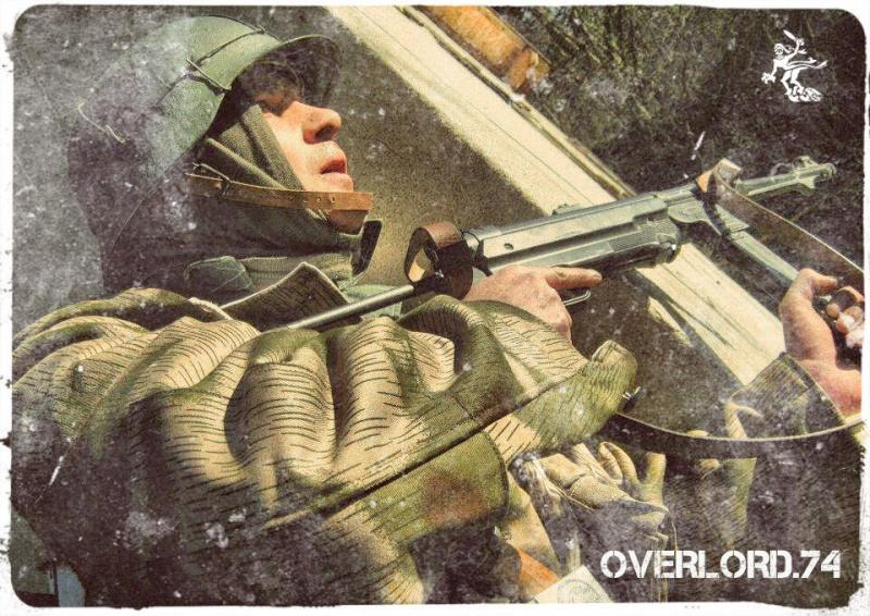 """OVERLORD.74 - Team """"11 eme PzDiv"""" 1944/45 26516210"""