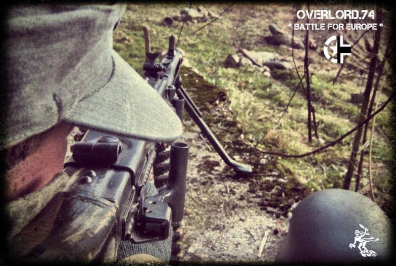 """OVERLORD.74 - Team """"11 eme PzDiv"""" 1944/45 29907710"""