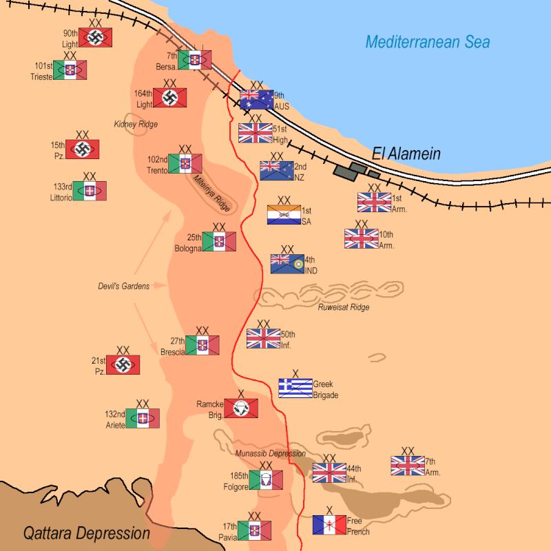 La 2eme bataille d'El-Alamein - Octobre 1942 2_batt10