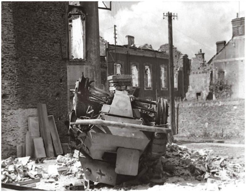 Panzer Wreck - Normandie 1944 2_pzpu10