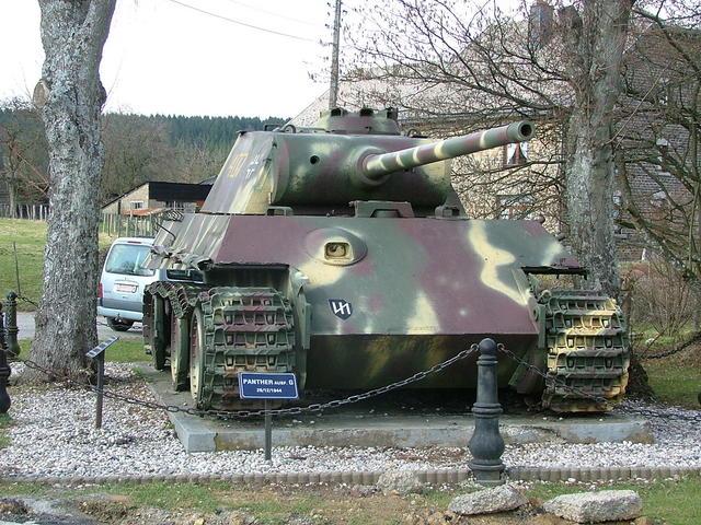 Le panther de grandmesnil - Belgique 2yi210