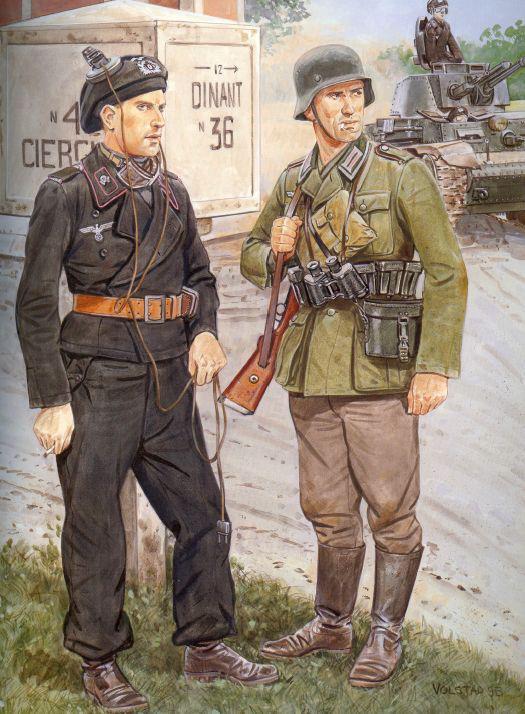 La tenue Noir des equipages des Panzer - HEER 30421210