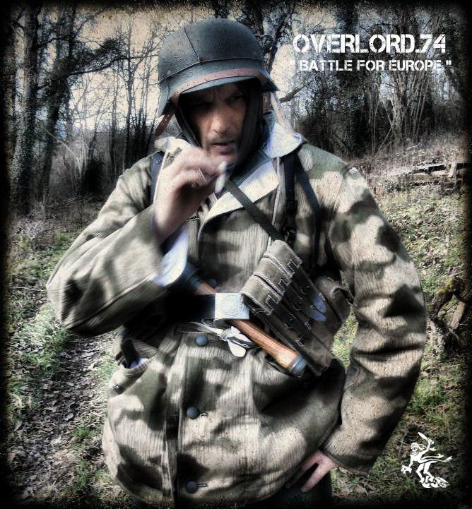 """OVERLORD.74 - Team """"11 eme PzDiv"""" 1944/45 307_1110"""