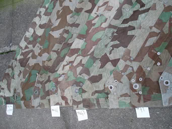 Heer Waffen - PONCHO ZELTBAHN 30sen110