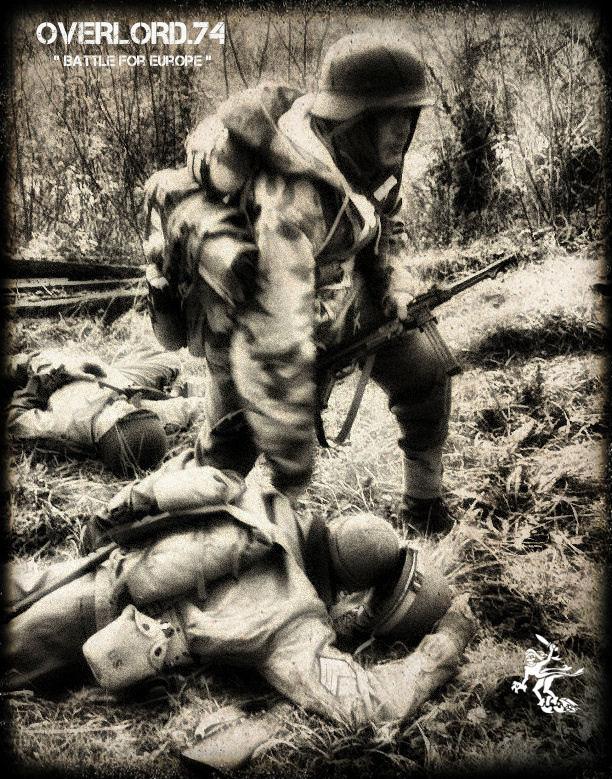 """OVERLORD.74 - Team """"11 eme PzDiv"""" 1944/45 33836110"""