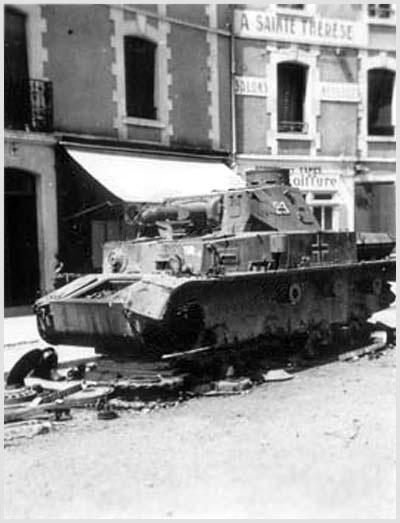 Panzer Wreck - Normandie 1944 339_2110