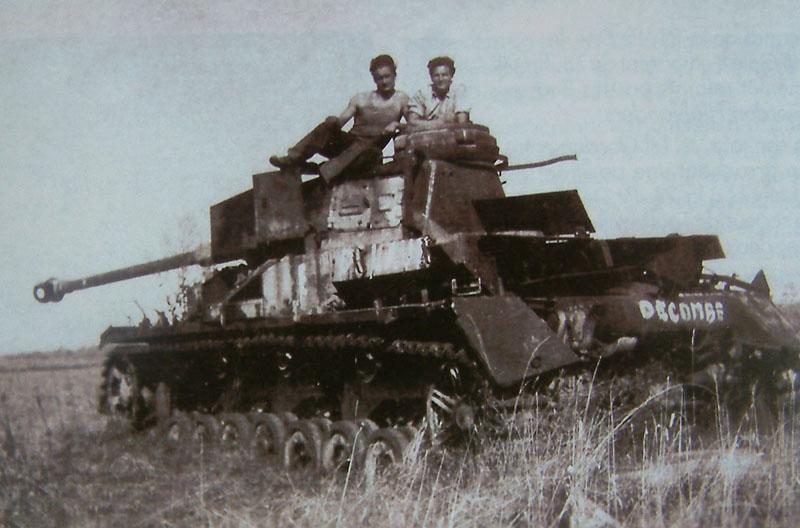Panzer Wreck - Normandie 1944 347_2110