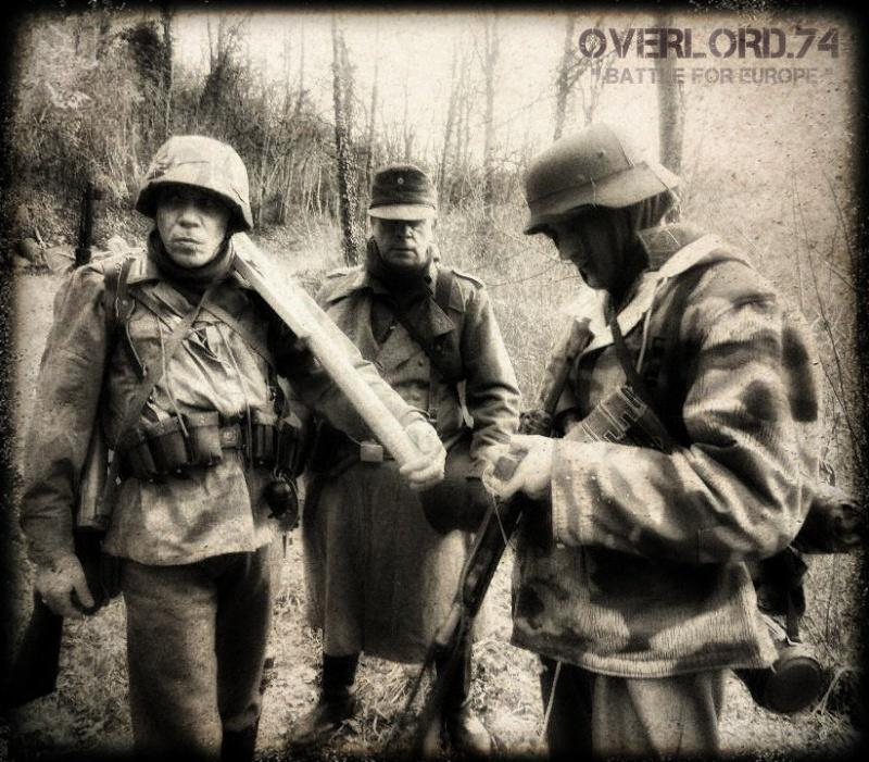 """OVERLORD.74 - Team """"11 eme PzDiv"""" 1944/45 39464210"""