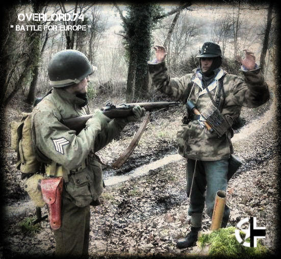 """OVERLORD.74 - Team """"11 eme PzDiv"""" 1944/45 39632610"""