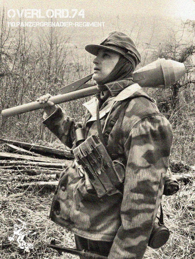 """OVERLORD.74 - Team """"11 eme PzDiv"""" 1944/45 40641110"""