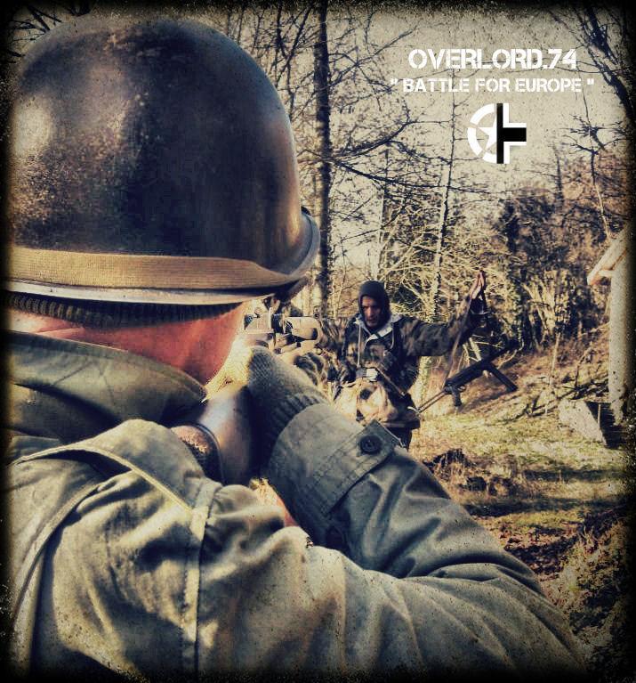 """OVERLORD.74 - Team """"11 eme PzDiv"""" 1944/45 40911410"""