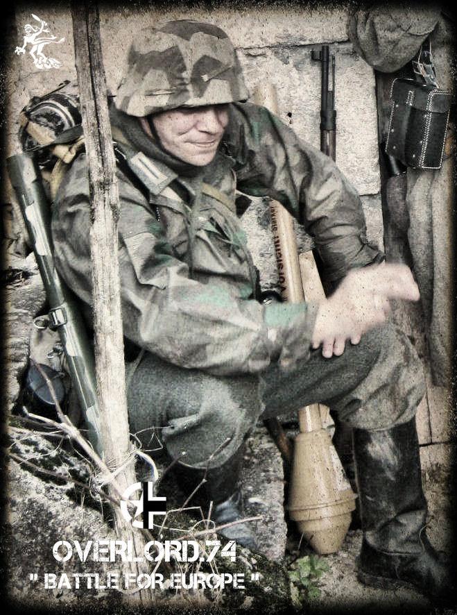 "OVERLORD.74 - Team ""11 eme PzDiv"" 1944/45 40g98010"