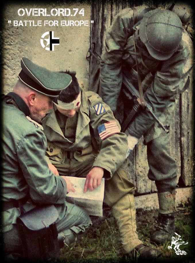 """OVERLORD.74 - Team """"11 eme PzDiv"""" 1944/45 42167110"""