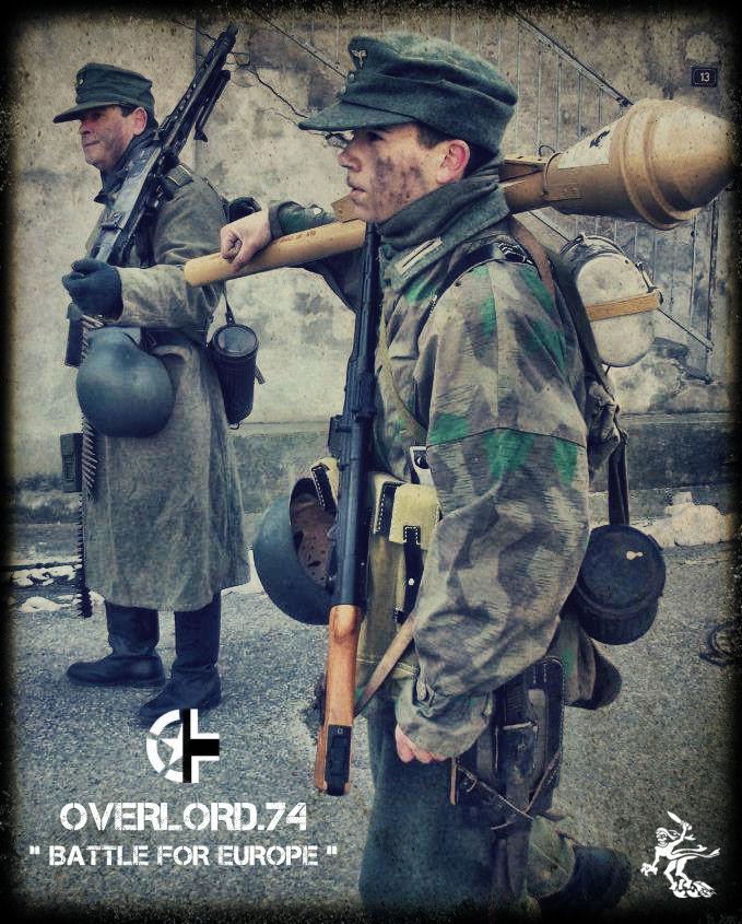 """OVERLORD.74 - Team """"11 eme PzDiv"""" 1944/45 4220_110"""