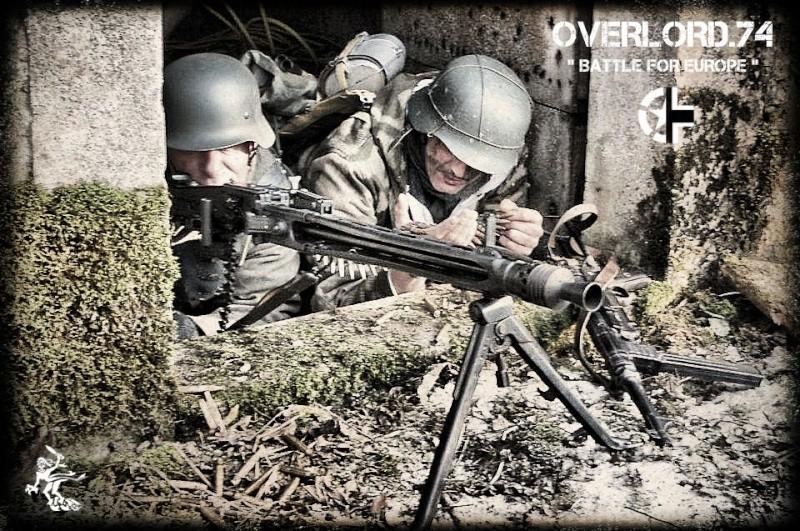 """OVERLORD.74 - Team """"11 eme PzDiv"""" 1944/45 42484910"""