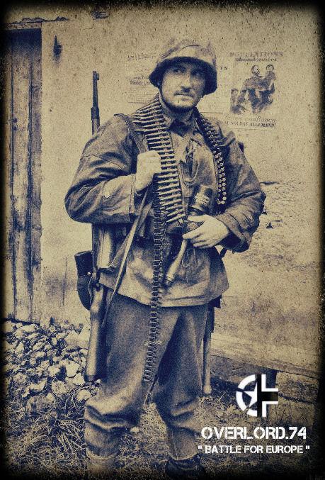 """OVERLORD.74 - Team """"11 eme PzDiv"""" 1944/45 42562810"""