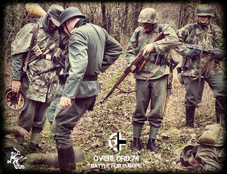 """OVERLORD.74 - Team """"11 eme PzDiv"""" 1944/45 42577610"""