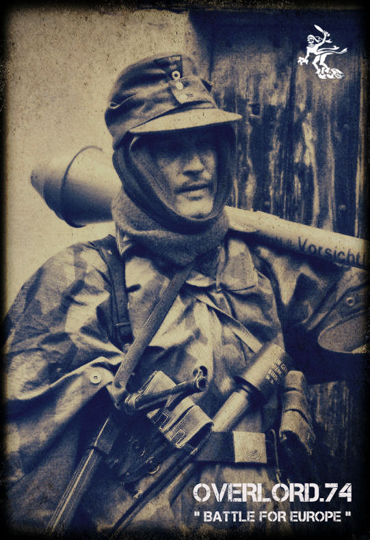"""OVERLORD.74 - Team """"11 eme PzDiv"""" 1944/45 42944110"""