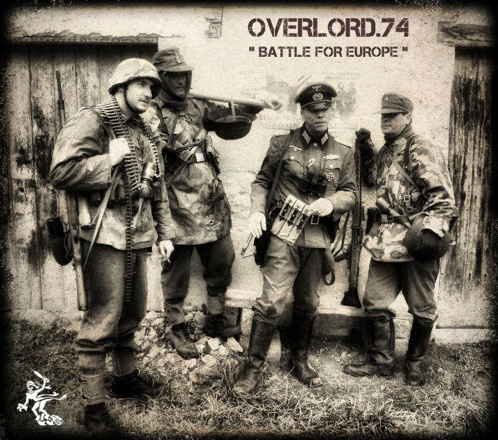 """OVERLORD.74 - Team """"11 eme PzDiv"""" 1944/45 43151310"""