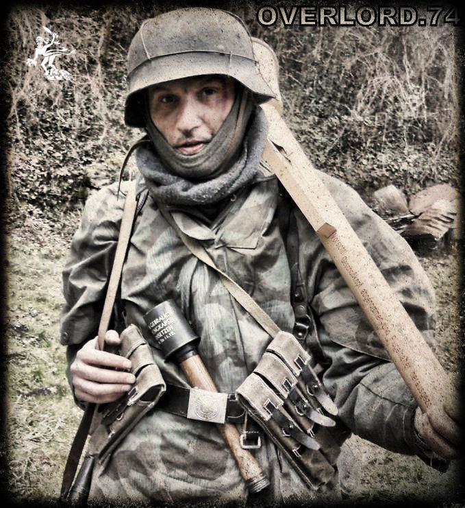 """OVERLORD.74 - Team """"11 eme PzDiv"""" 1944/45 43165810"""