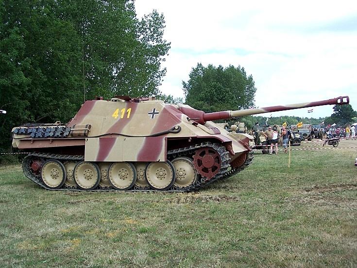 Jagdpanther - Bovington Museum - UK 437410