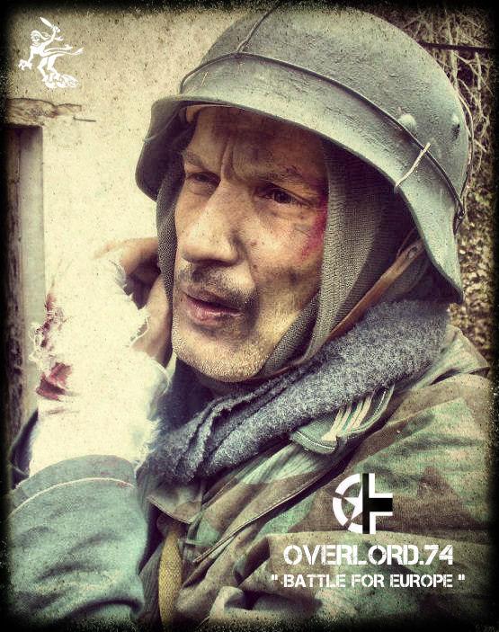 "OVERLORD.74 - Team ""11 eme PzDiv"" 1944/45 44h22110"