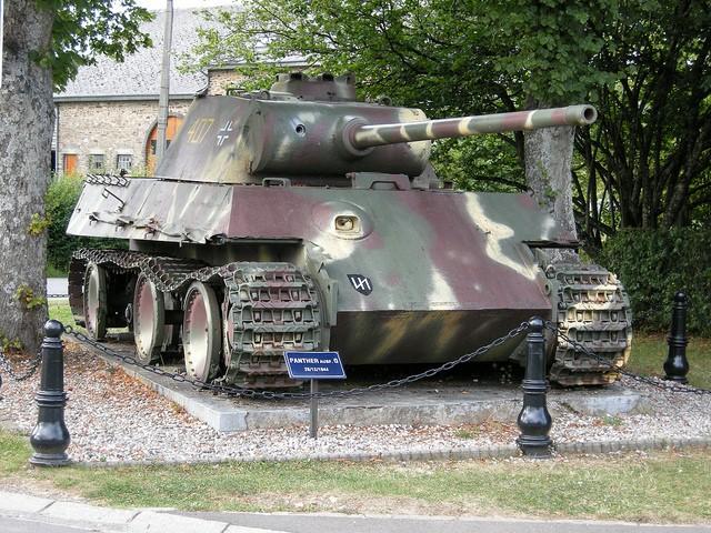 Le panther de grandmesnil - Belgique 47573511