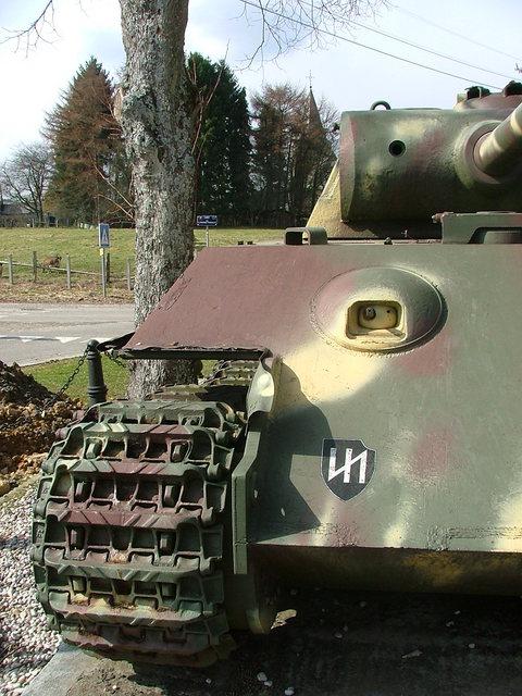 Le panther de grandmesnil - Belgique 4cu110