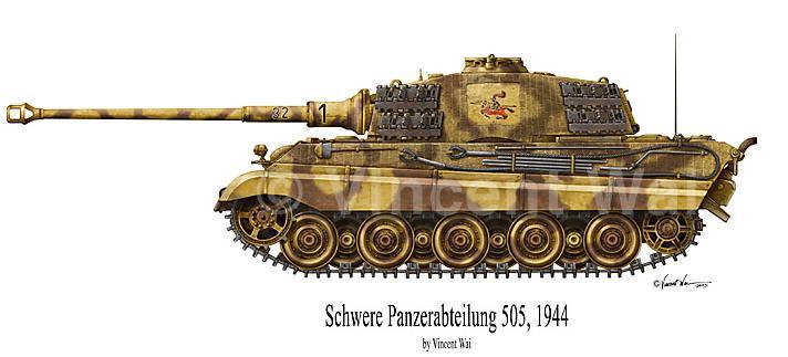 Panzerkampfwagen VI - Königstiger 505_ti10