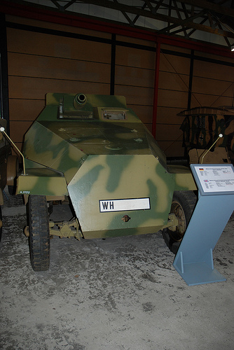 SdKfz 251/9 - Munster - Panzer Museum - DE 53866410