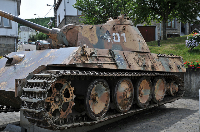Houffalize - Panther Ausf. G - Belgique 54519110