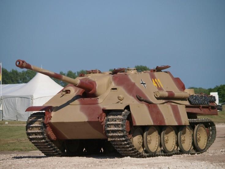 Jagdpanther - Bovington Museum - UK 573810