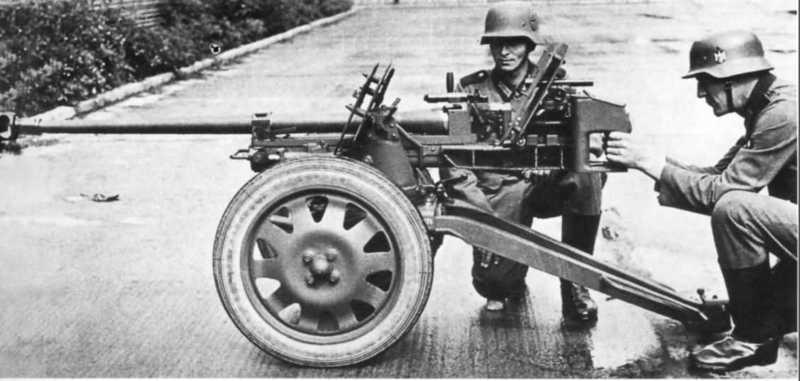 2,8 cm schwere Panzerbüchse 41 - s.Pz.B. 41 57620110
