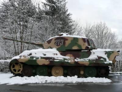 King Tiger - La Gleise - Belgique  58140810