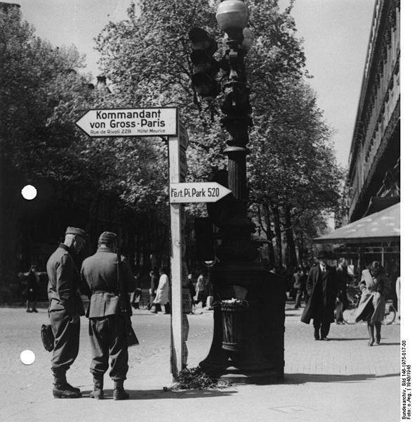 Reportage - PARIS sous l'occupation 587px110