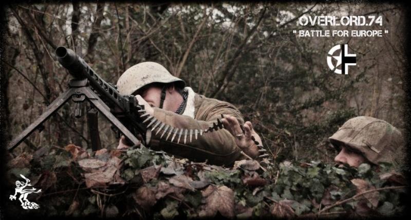 """OVERLORD.74 - Team """"11 eme PzDiv"""" 1944/45 65457110"""