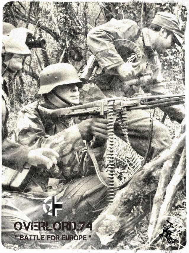 """OVERLORD.74 - Team """"11 eme PzDiv"""" 1944/45 71_12412"""