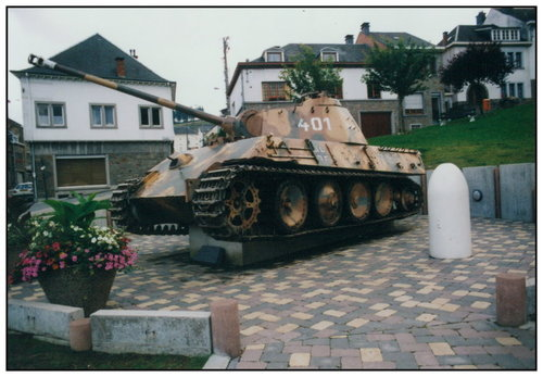Houffalize - Panther Ausf. G - Belgique 73812710