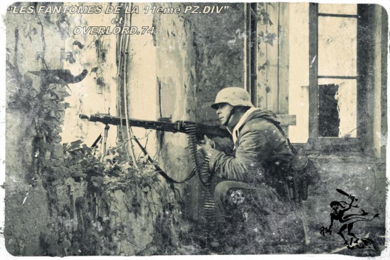"OVERLORD.74 - Team ""11 eme PzDiv"" 1944/45 8855hj10"