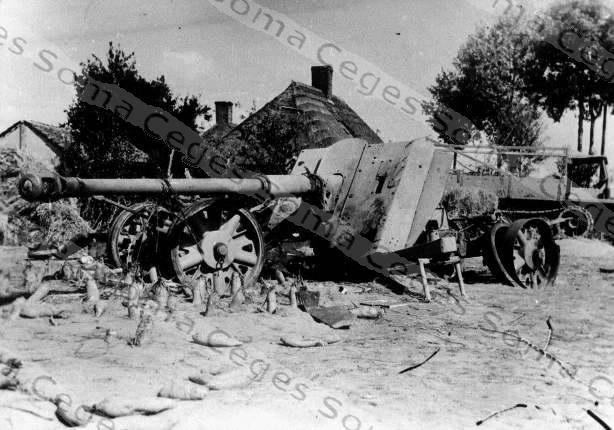 Pak 43 (Panzerabwehrkanone 43) - 88 mm 88cmpa10