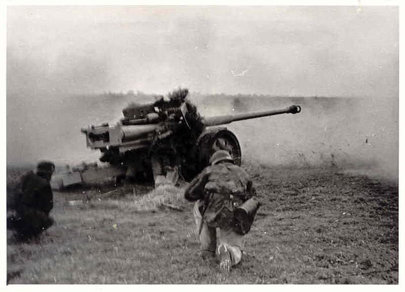 Pak 43 (Panzerabwehrkanone 43) - 88 mm 88cmpa11