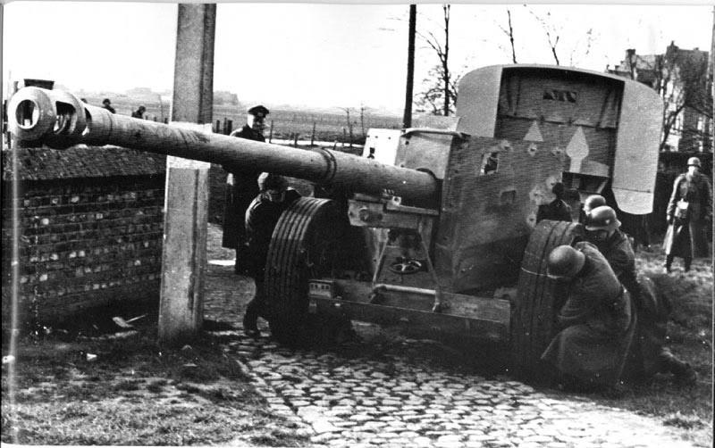 Pak 43 (Panzerabwehrkanone 43) - 88 mm 88cmpa12