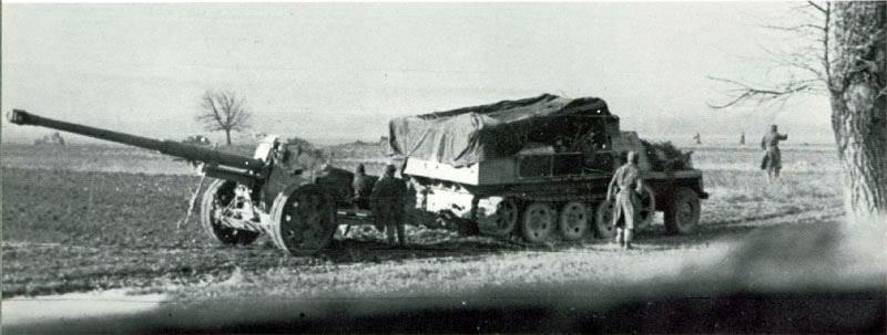 Pak 43 (Panzerabwehrkanone 43) - 88 mm 88cmpa13