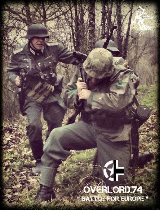 """OVERLORD.74 - Team """"11 eme PzDiv"""" 1944/45 93_20010"""