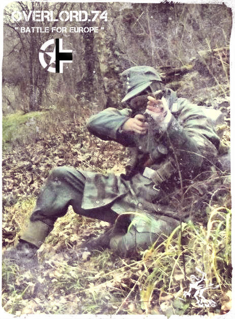 """OVERLORD.74 - Team """"11 eme PzDiv"""" 1944/45 93_20011"""