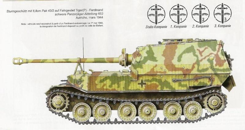 Panzerjäger Tiger Elefant/Ferdinant 9805510