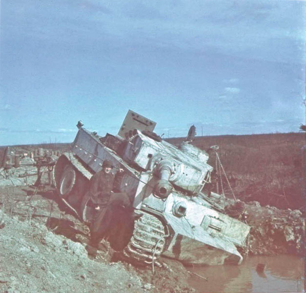 Panzer Wreck in Color !!! _0000010