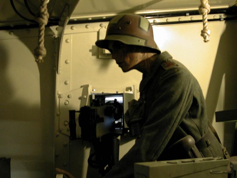 WW1 - A7V  - Munster - Panzer Museum _dscn112