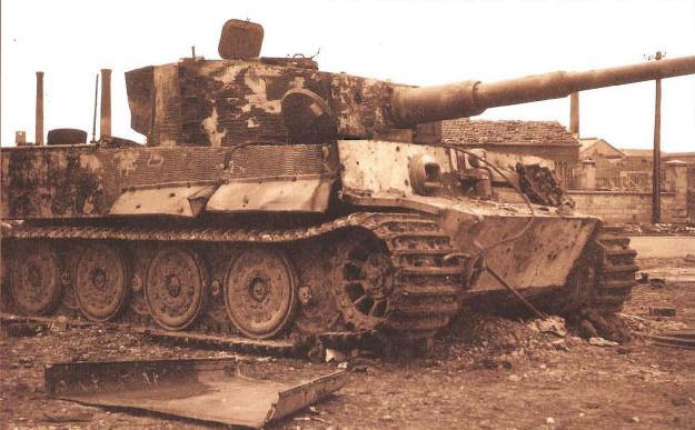 Panzer Wreck - Normandie 1944 _panze10