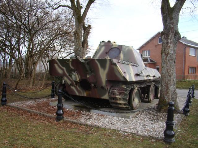 Le panther de grandmesnil - Belgique A-char10
